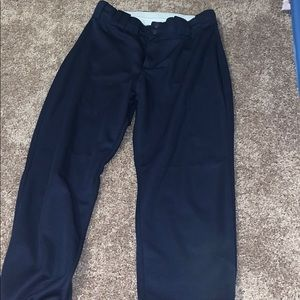Woman's navy softball pants